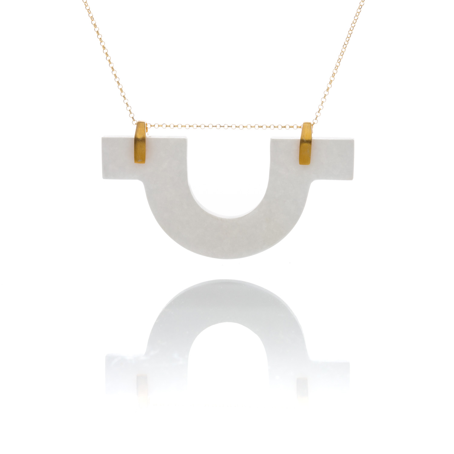 dipped gold alpha necklace dogeared sorority omega chi