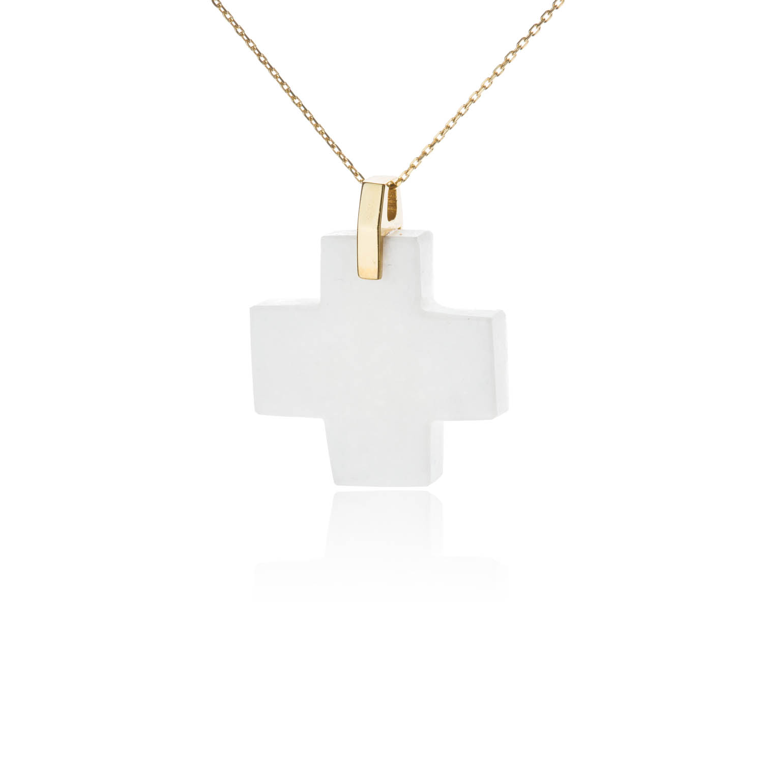 pendant gold cross pin woman zircon color letter square brand stainless necklace love steel fashion rose