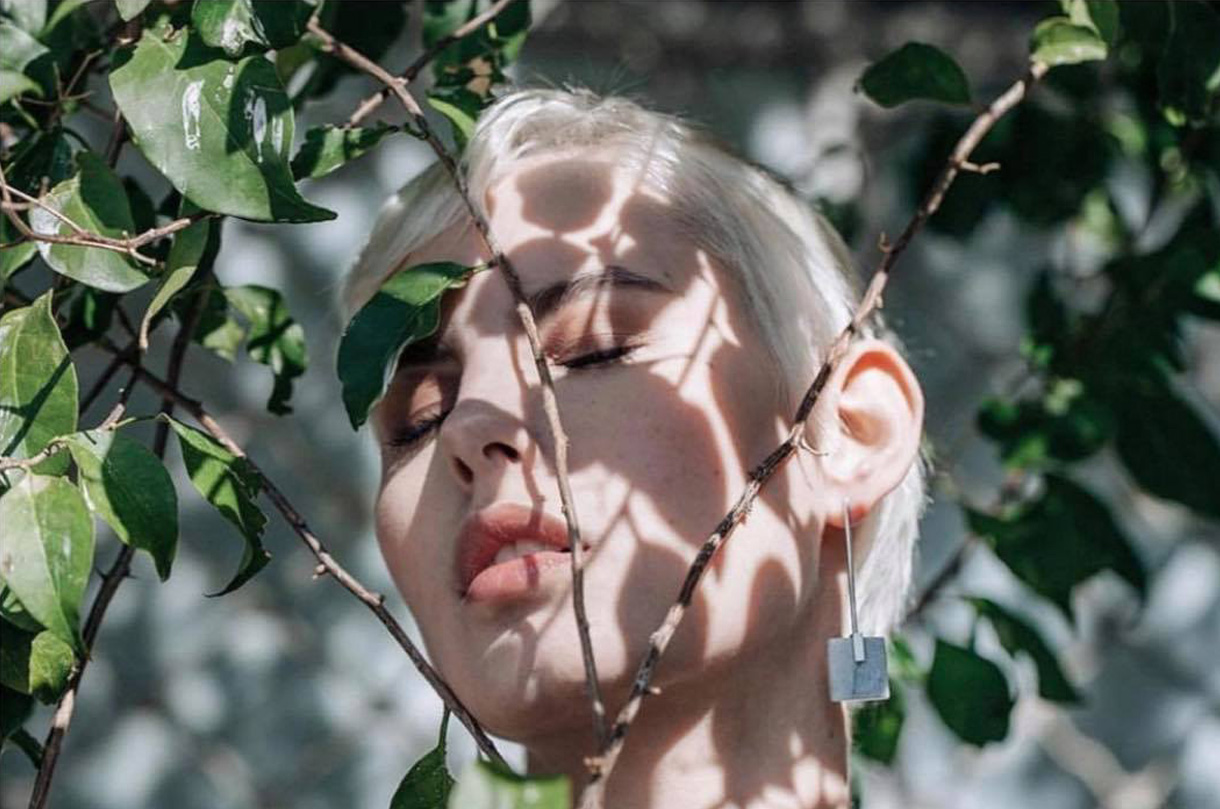 square-marble-earrings